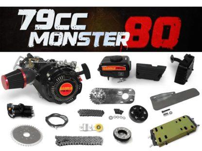 79cc 80 Bike Engine 4 Stroke Bicycle Motor Kit