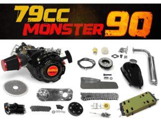 79cc 90 Bike Engine 4 Stroke Kit